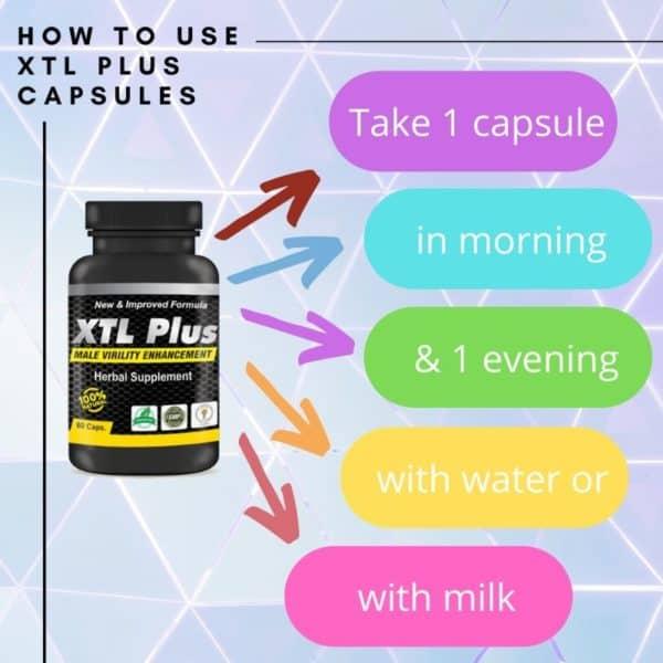xtl plus capsule dosage