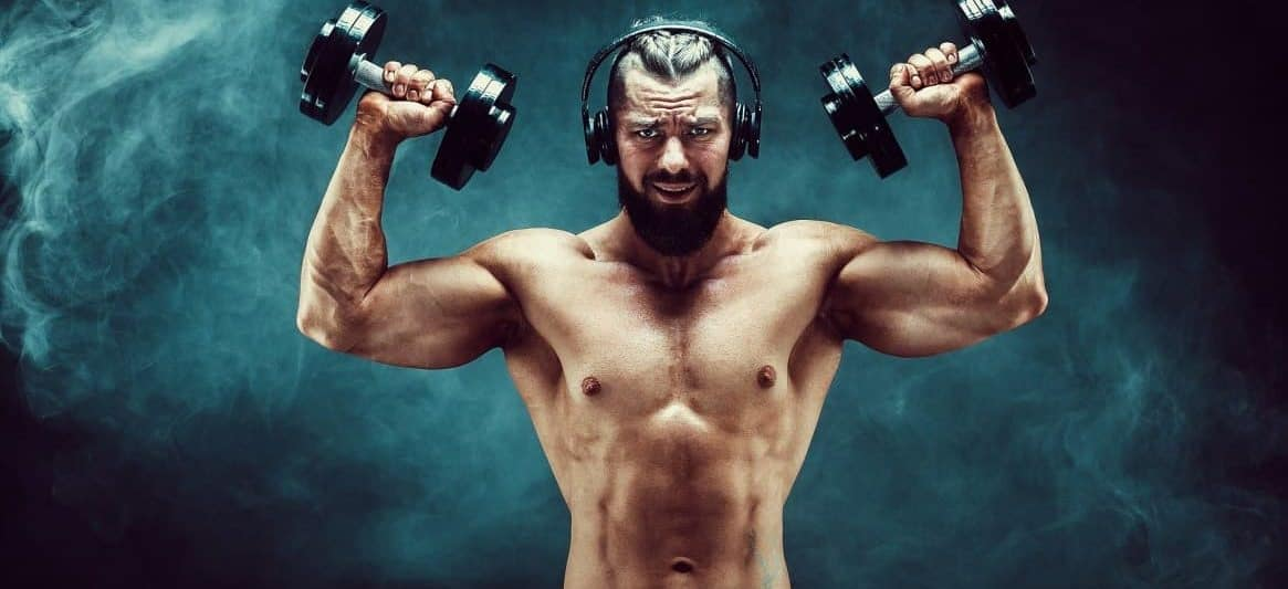 music helps in workout