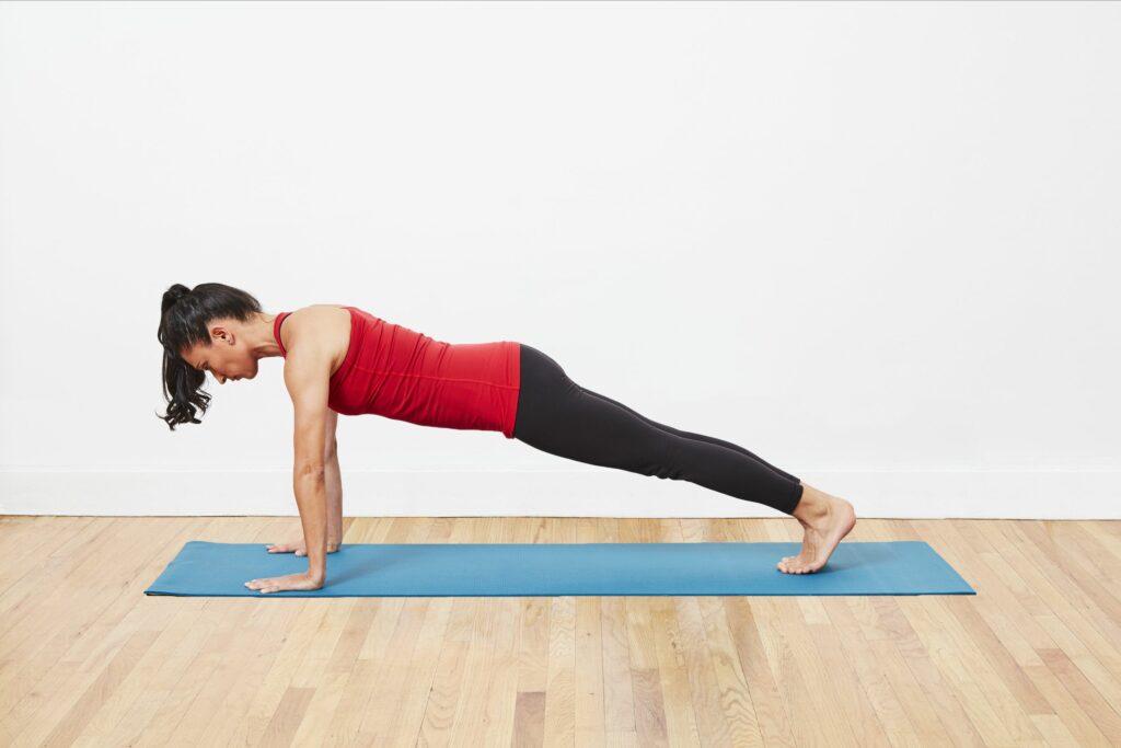 full plank exercise for stamina