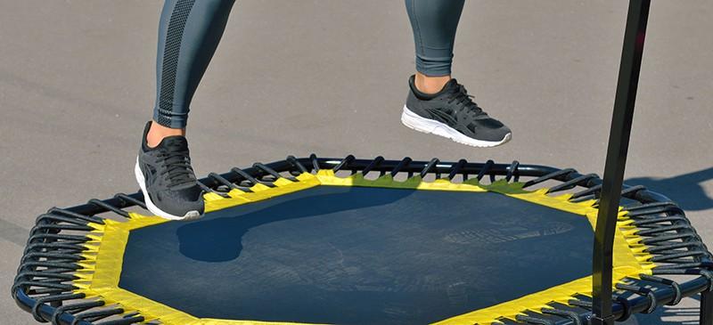 trampoline rebounding can help improve stamina